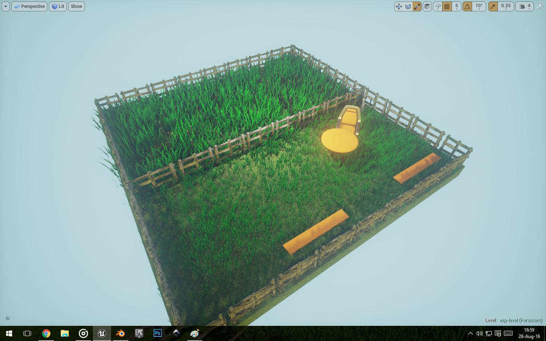 Overall (Long Grass + Short Grass + Wooden Fences)