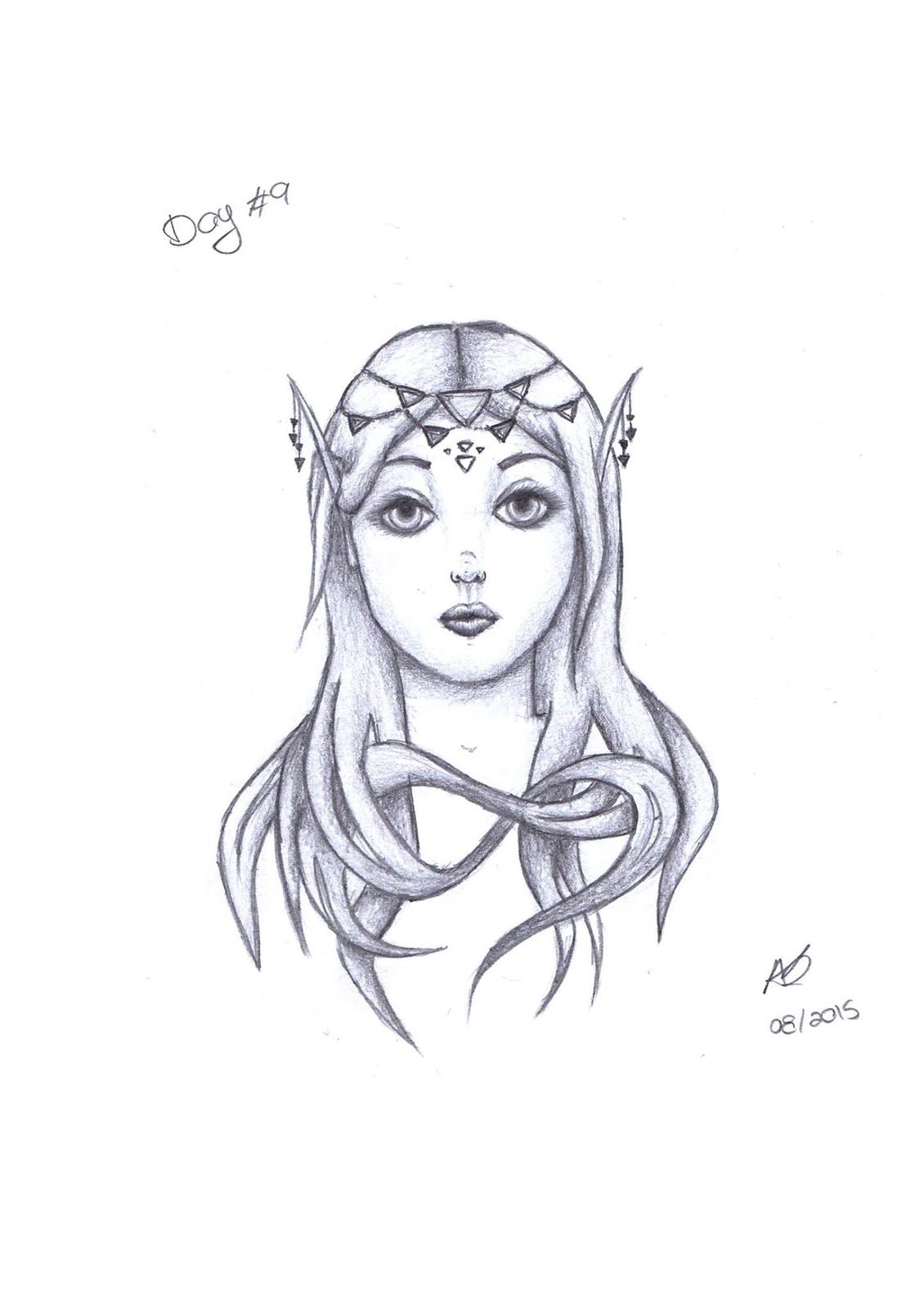 original sketch in 2015