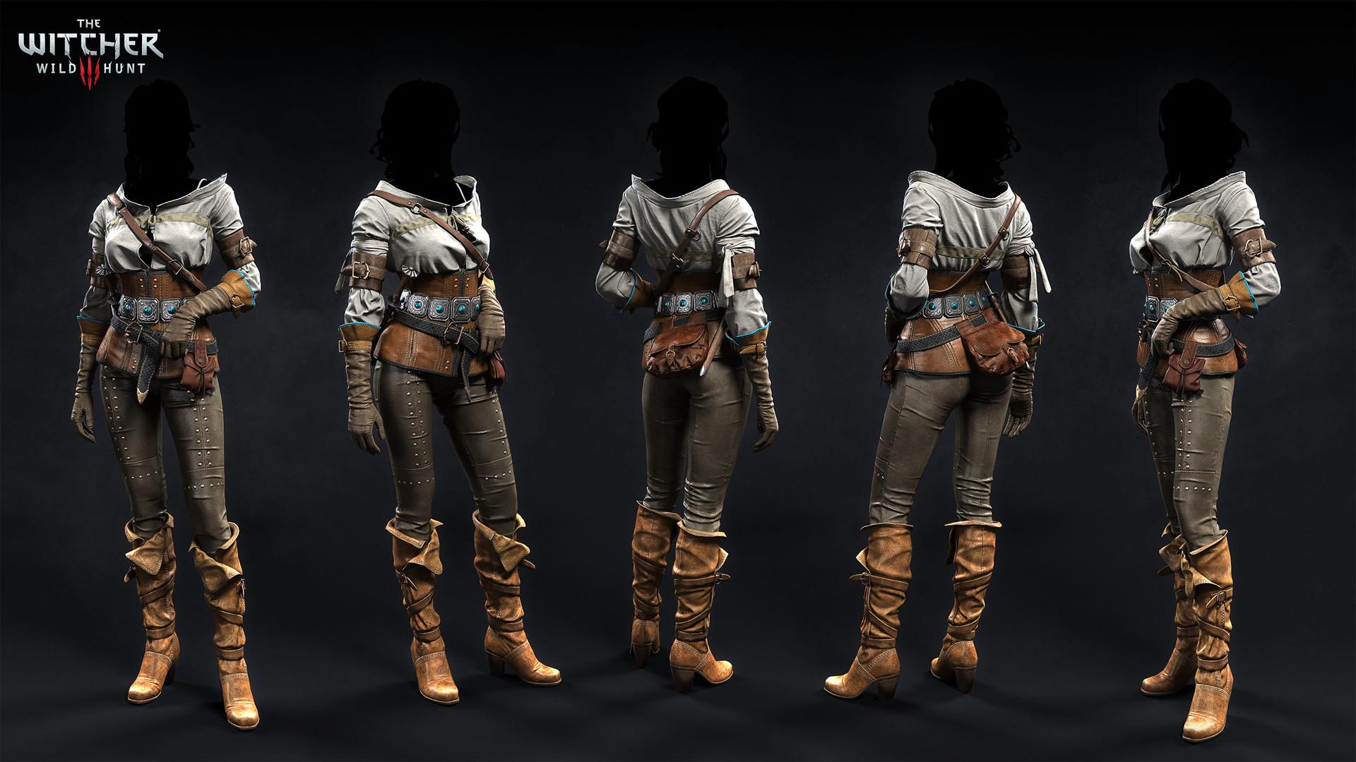 Marcin Blaszczak - The Witcher III - NPC's outfits