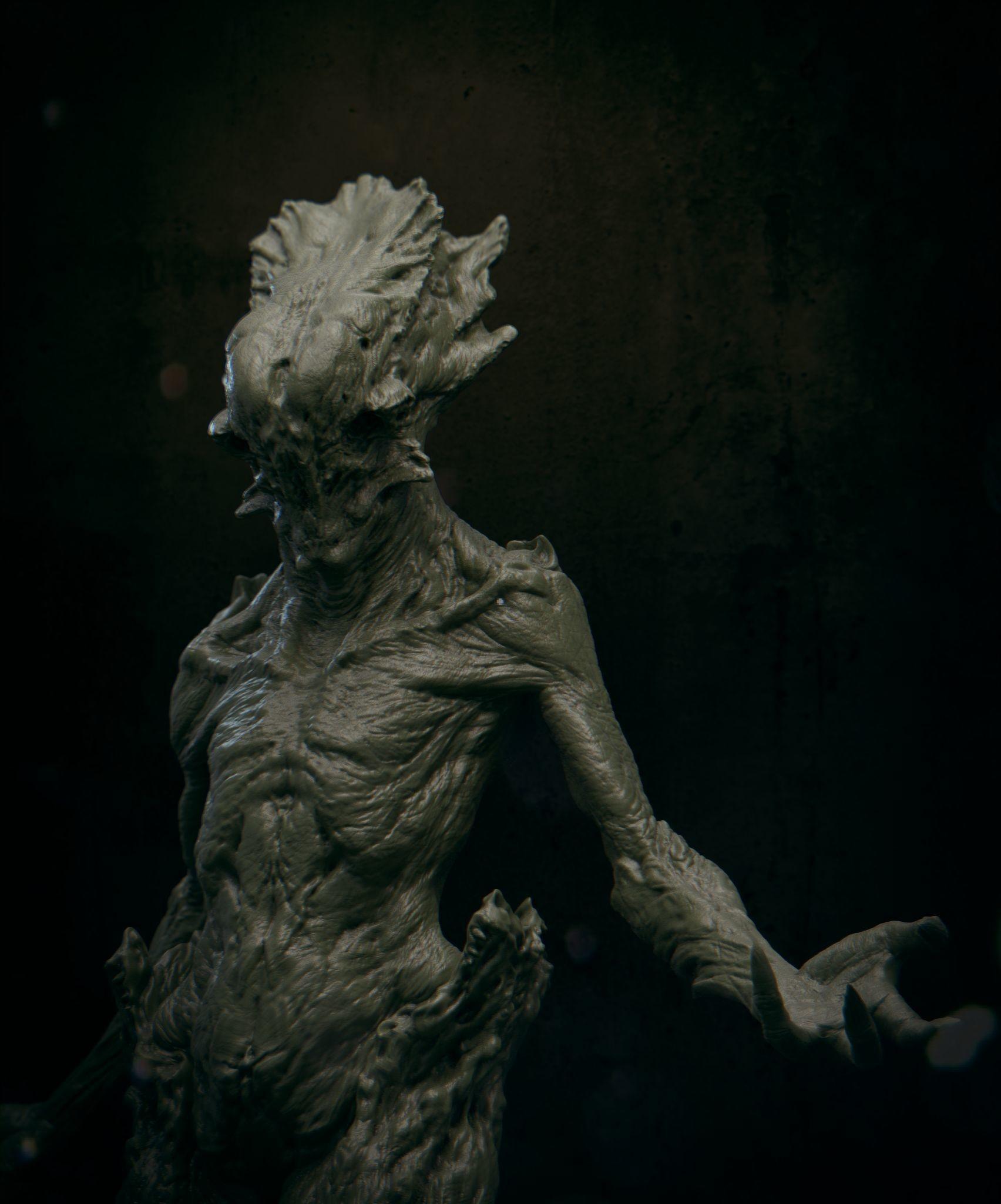 Daniel bystedt lovecraft monster 07
