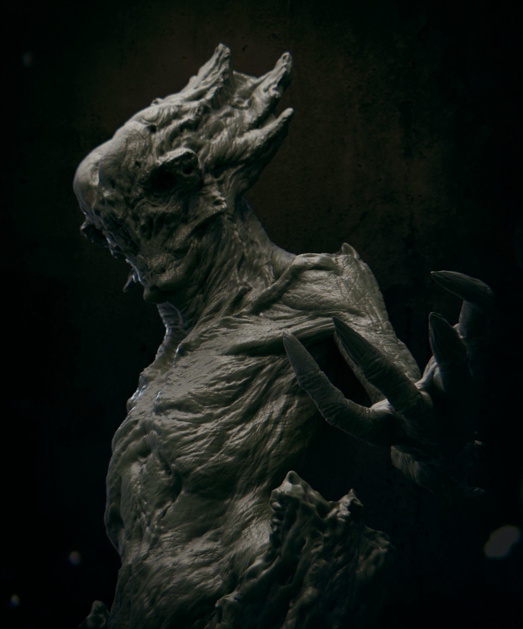 Daniel bystedt lovecraft monster 04