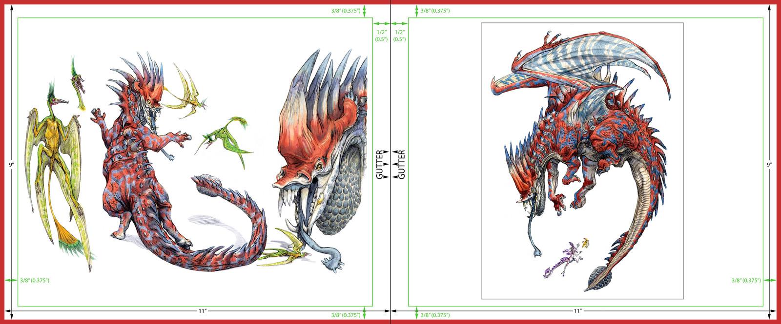Rhino Dino Model Sheet