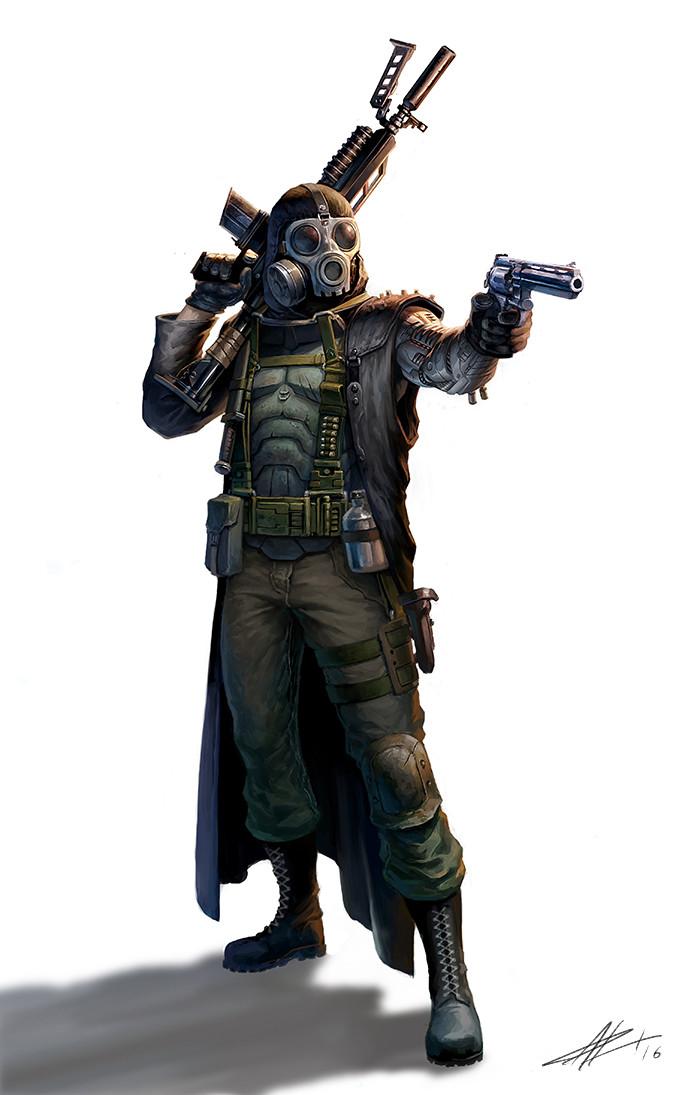 ArtStation - The Zombie Hunter, Patrick Reinemann