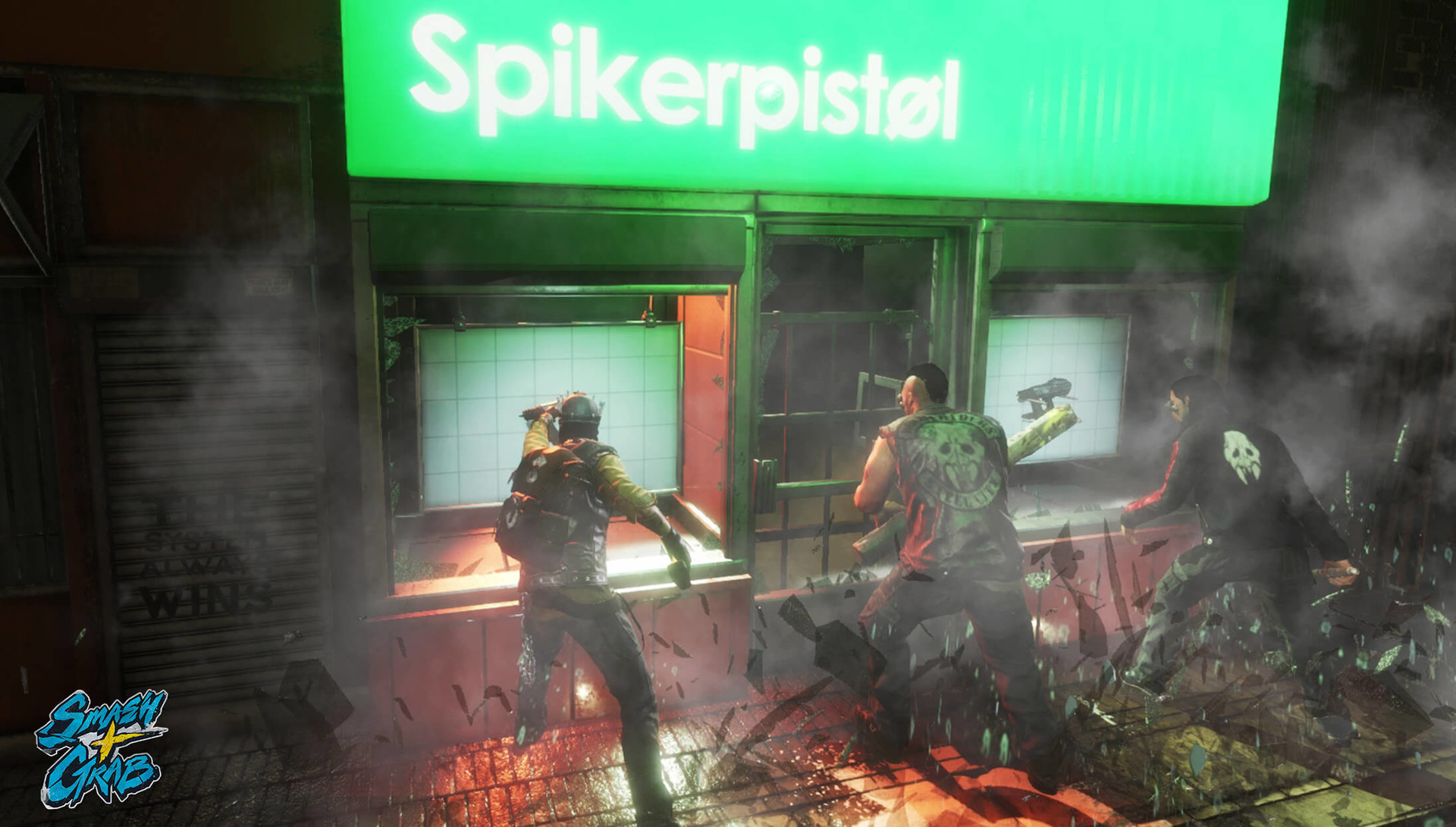 Samantha bean sandg spikerpistol looting