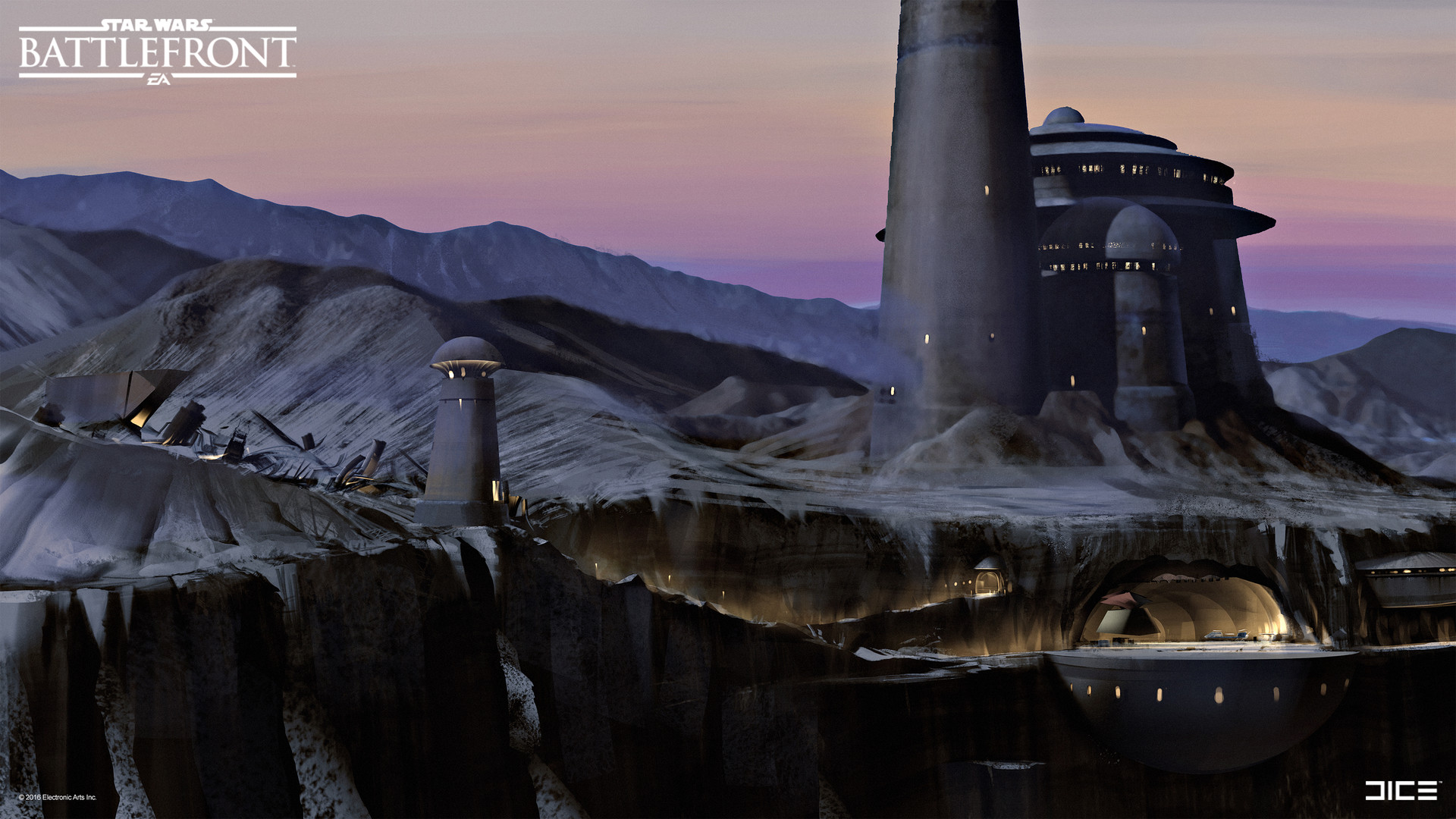 artstation - jabba's palace concept art for the star wars