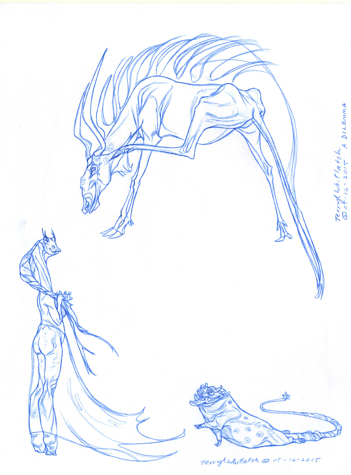 Creature Design 2--Creature into Character, plus Mrs. Binx