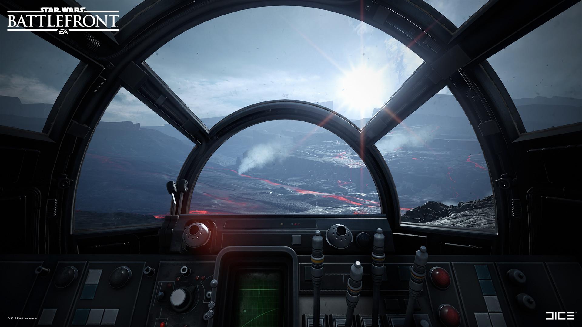 Artstation 2015 Star Wars Battlefront Vehicle Cockpit Interiors Carl Palacios