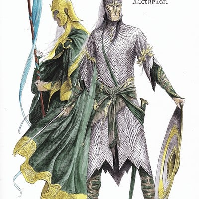 Turner mohan glorfindel and ecthelion