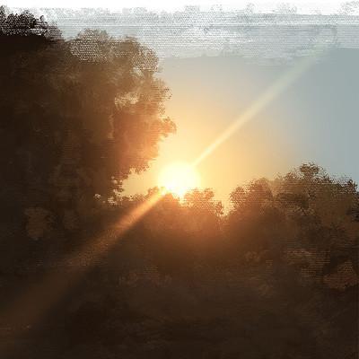 Emrullah cita practice sunset