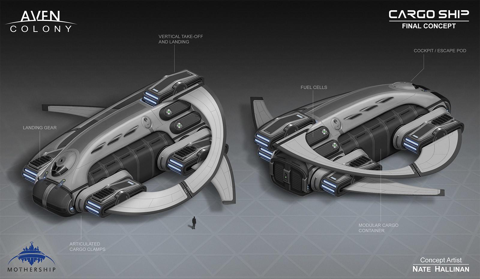 Nate hallinan ac ship cargo concept