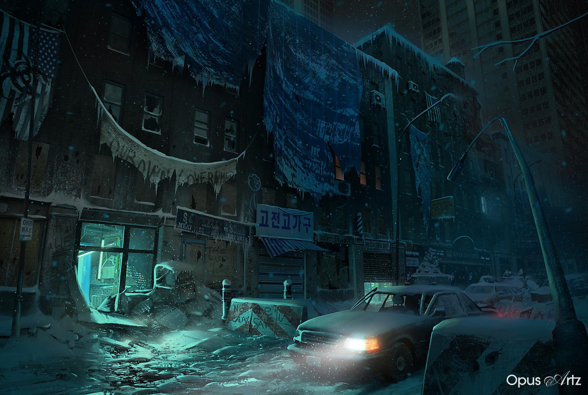 Opus artz divison chaos night neon finalflat