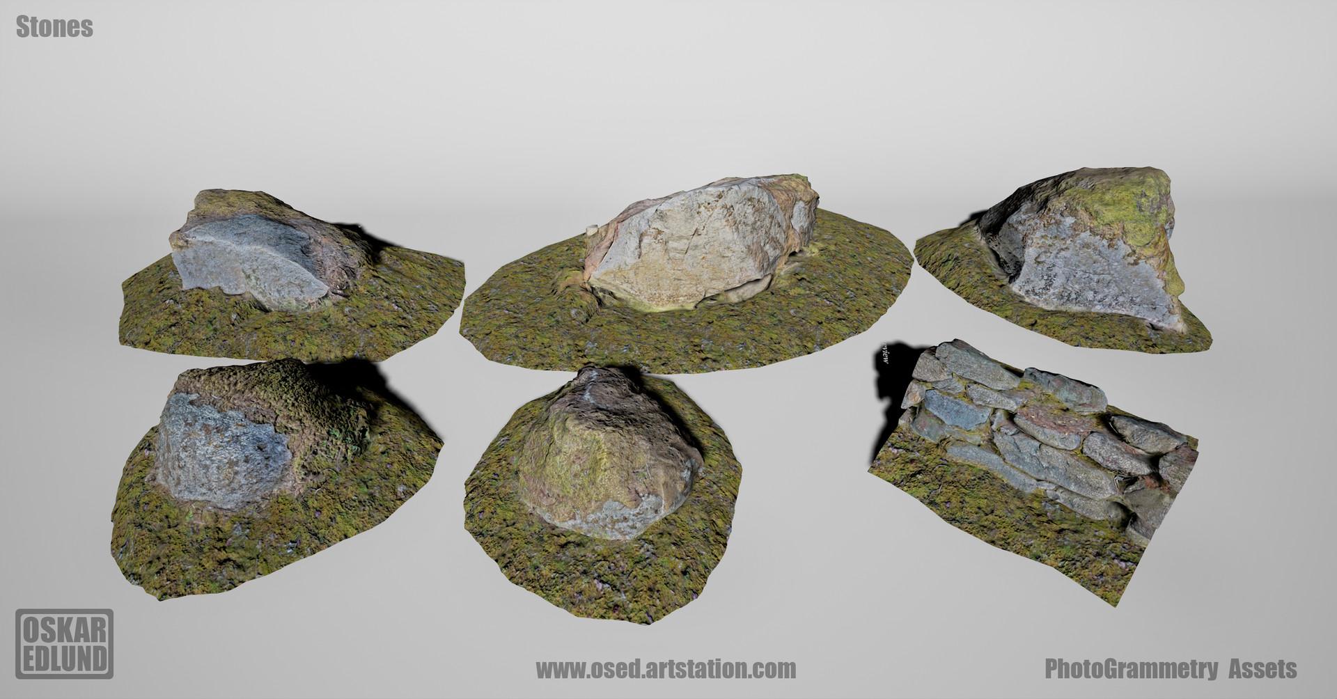 Oskar edlund stones