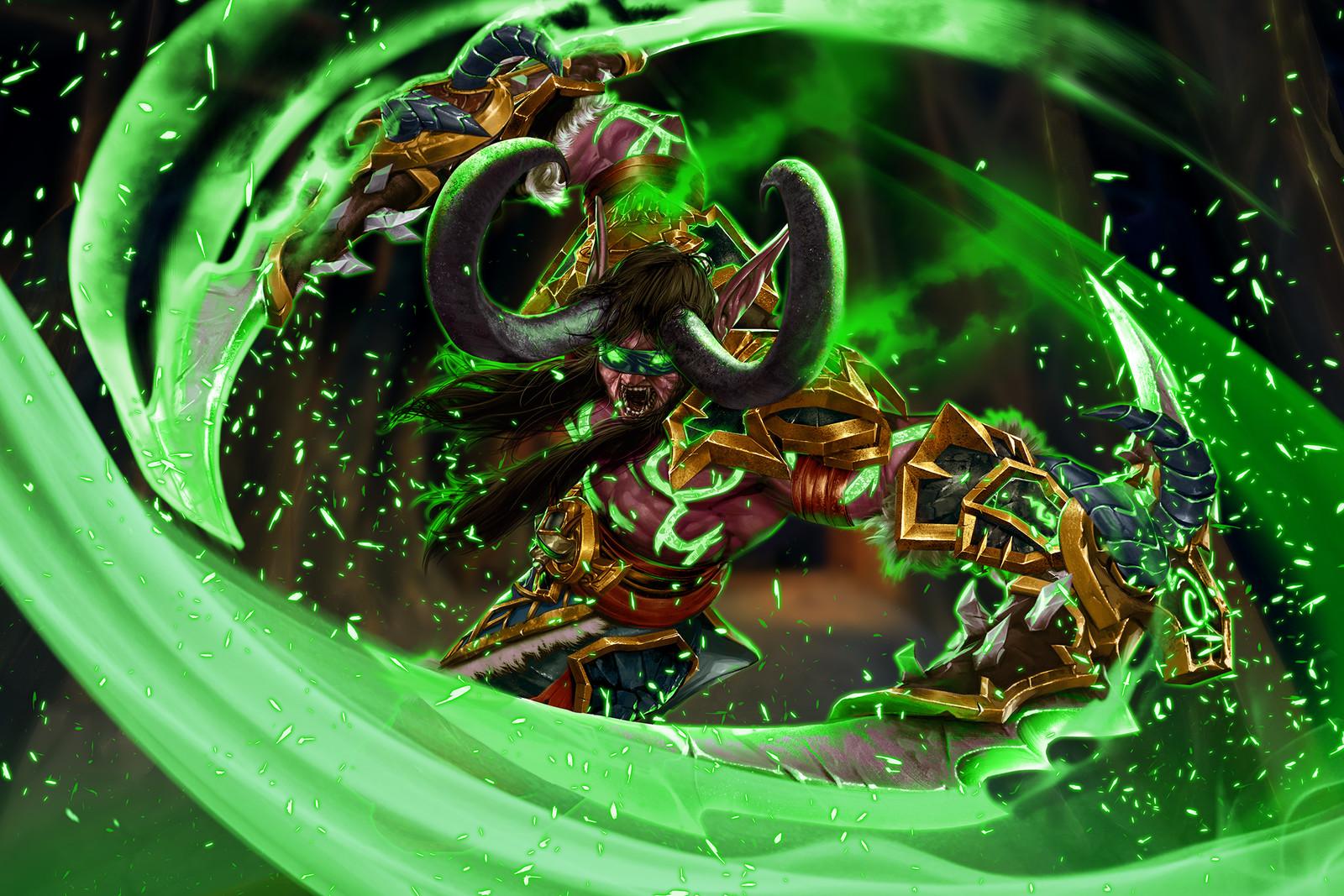 World of Warcraft Legion - The Demon Hunter