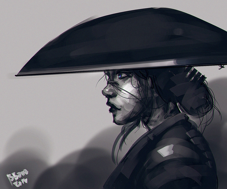 Benedick bana samurai girl2 lores