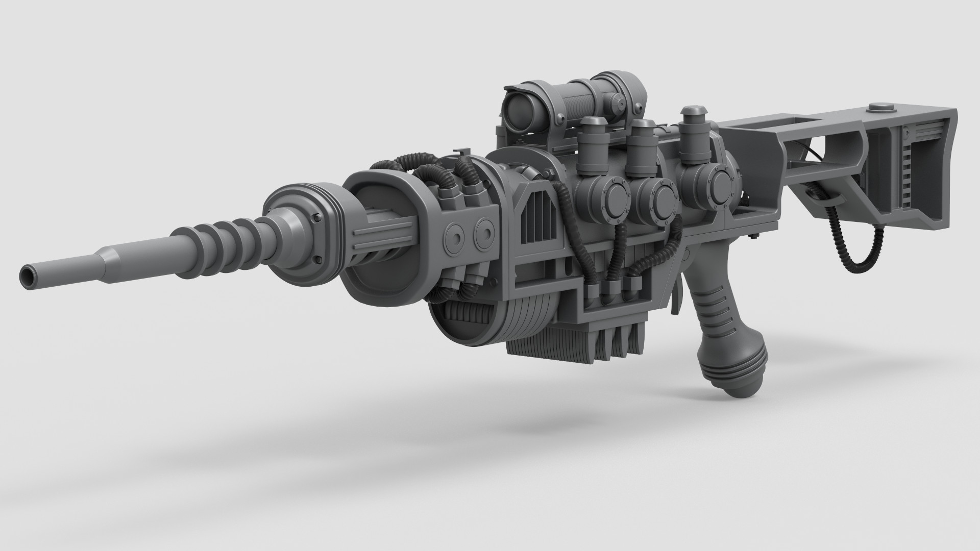 jonathan eiger fallout 4 plasma rifle high poly