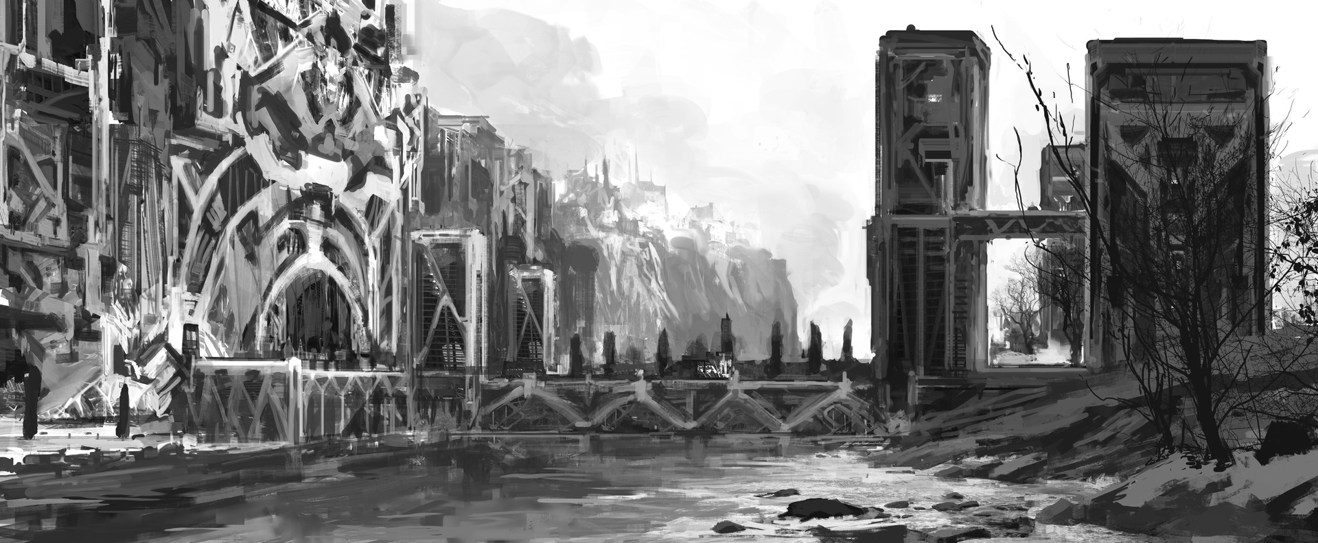 Wojciech bajor relic cathedral city gates mood shot 1