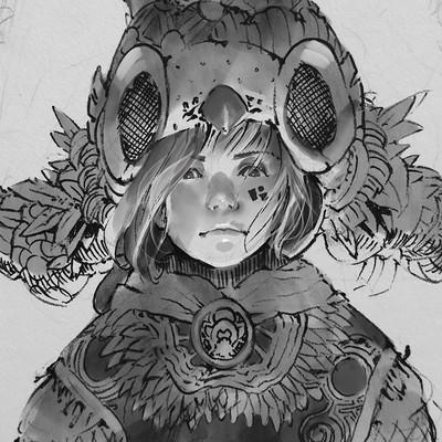 Mingchen shen owlgirl