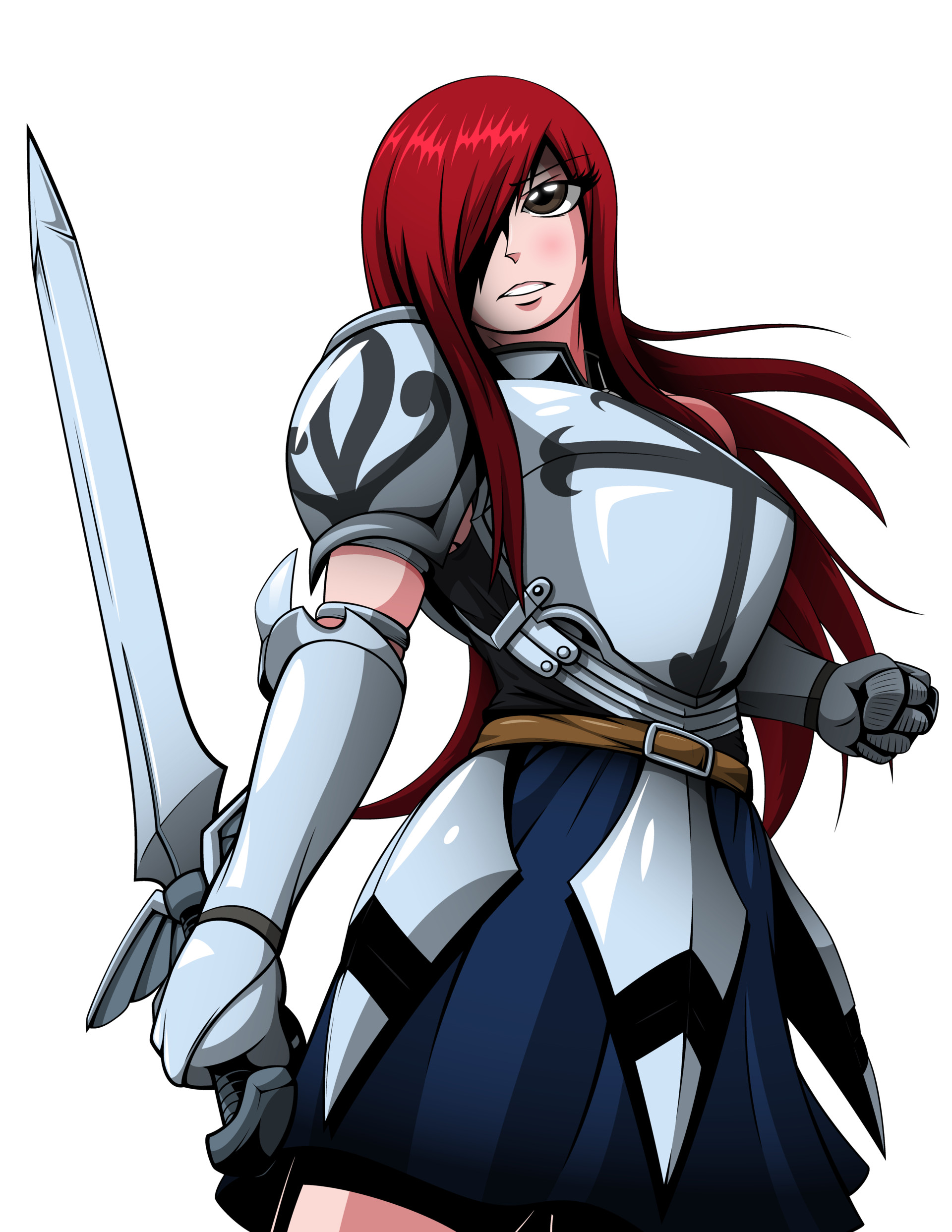 Nathaniel scramling fairy tail erza