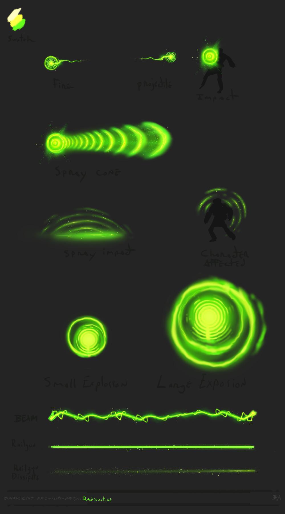 Ben hosac wip fx concepts radioactive