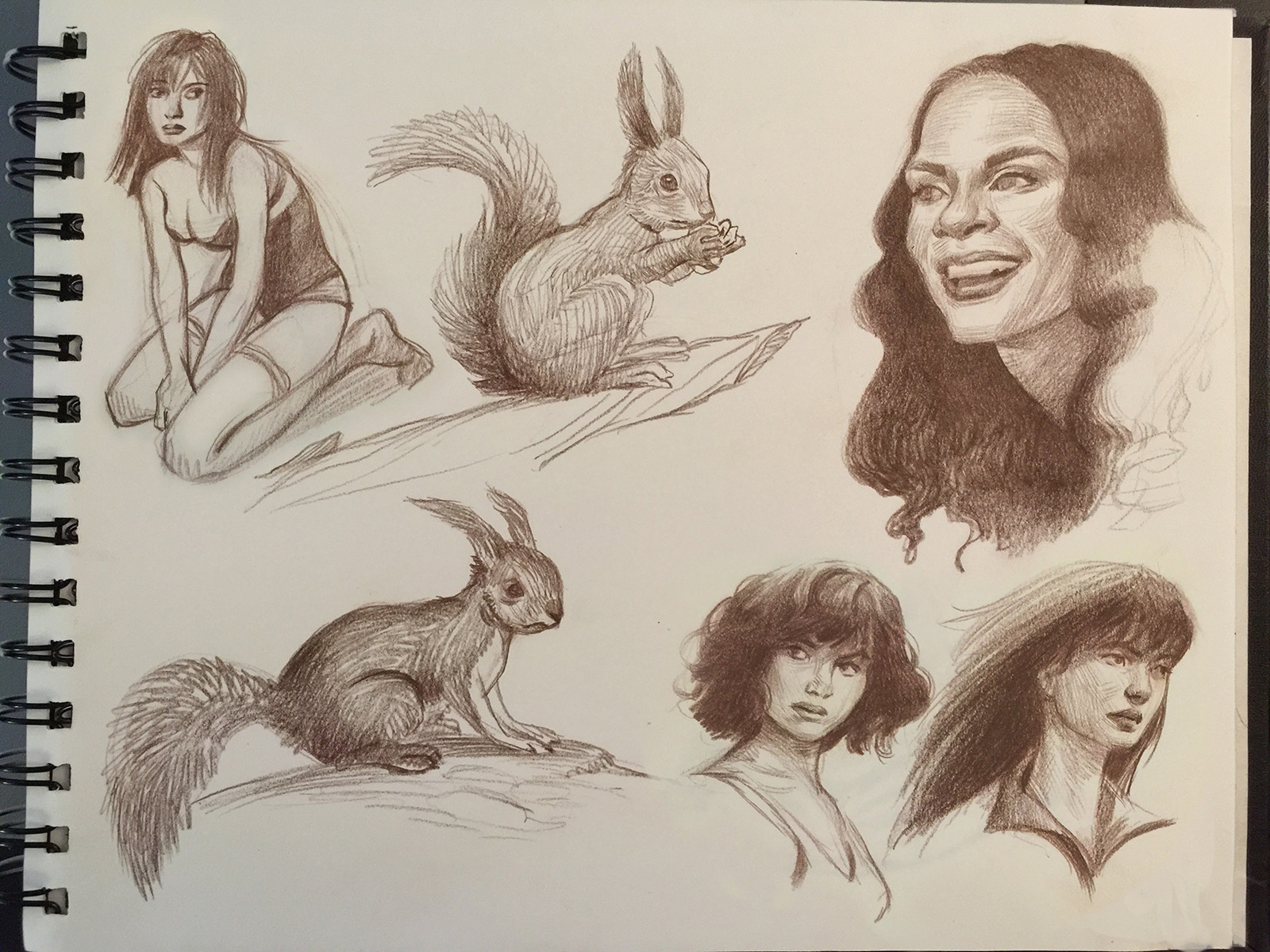 Squirrels and Girls
