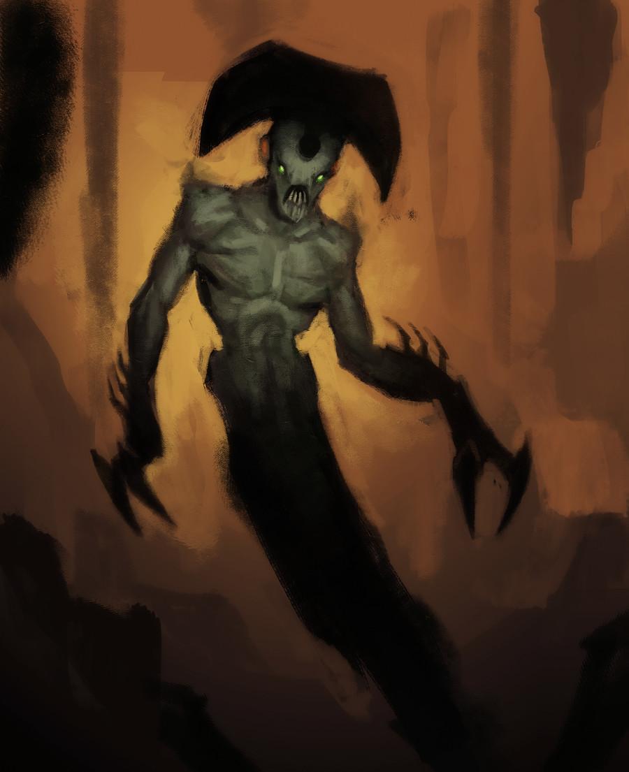 Patri balanovsky harlequin demon spitpaint small