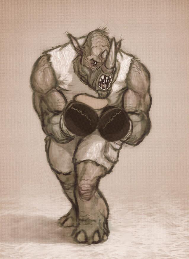 Patri balanovsky rhinoman sketch small