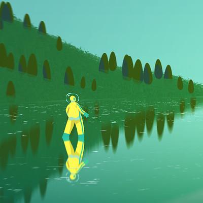 Samuel herb glass lake