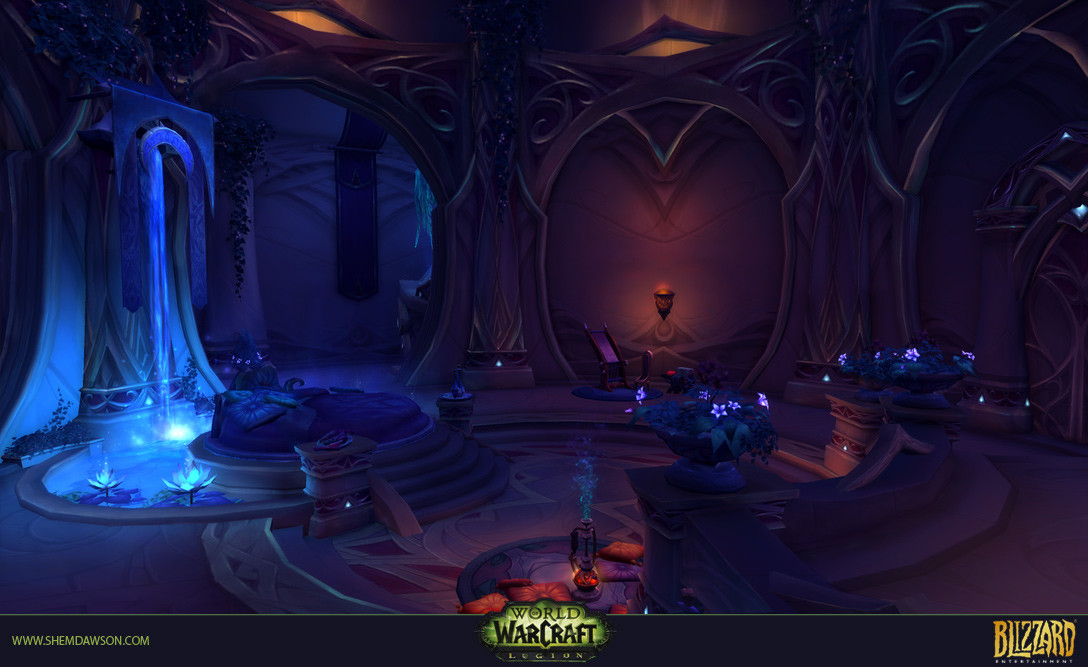 Shem dawson suramar dungeon 01