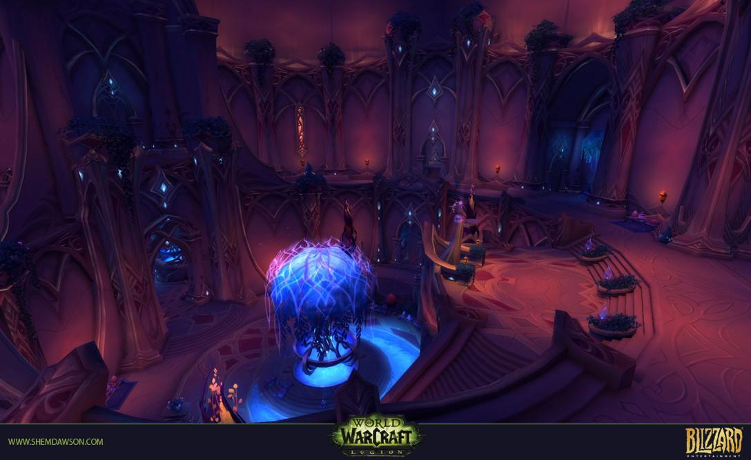 Shem dawson suramar dungeon 14