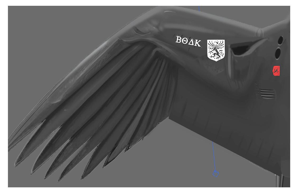 Alex jay brady 2 wing diffuse