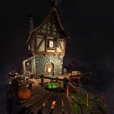 Witchouse (Personal Project) (2016)