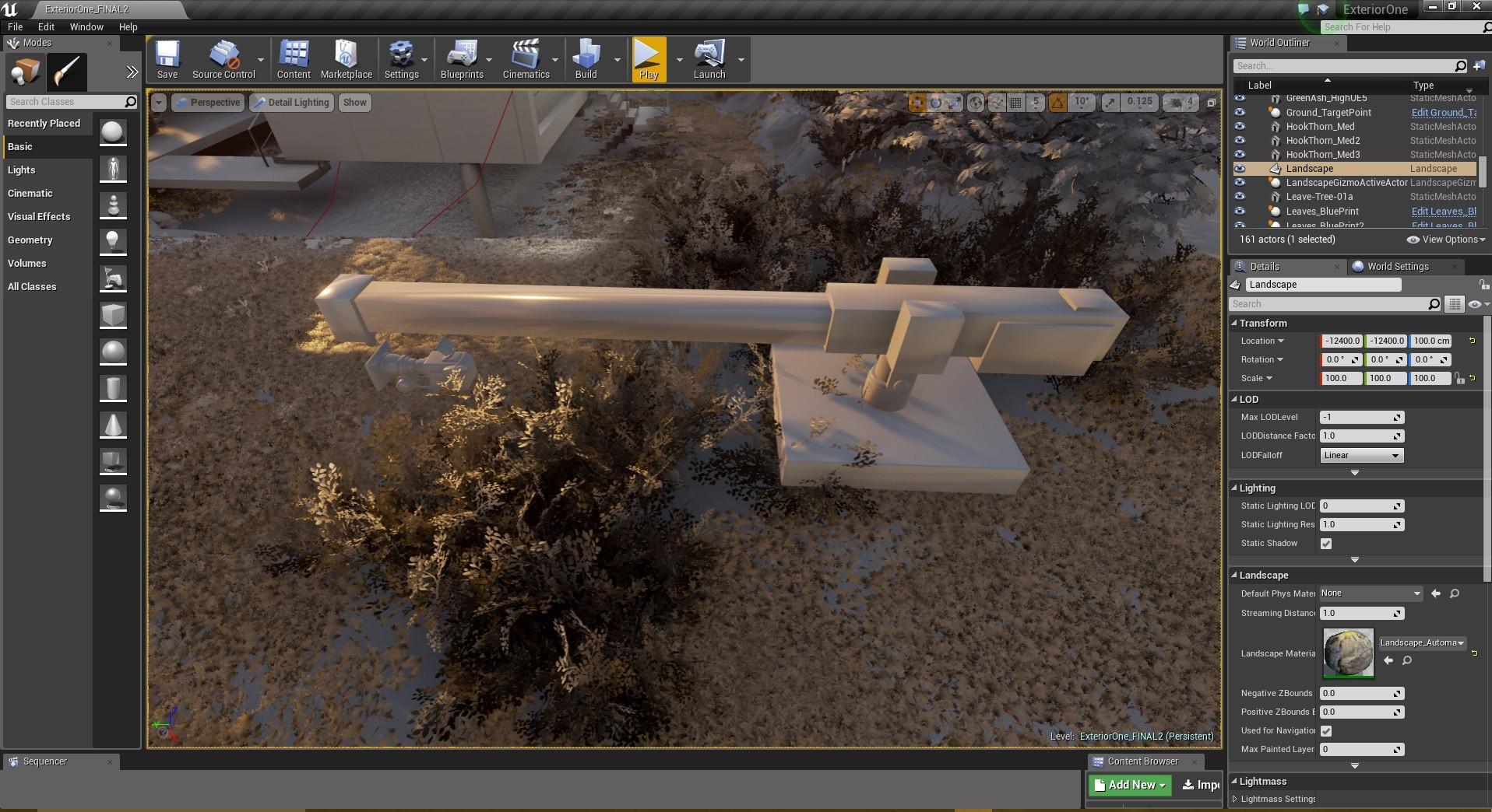 Unreal Engine 4 - Camera Crane rig 02