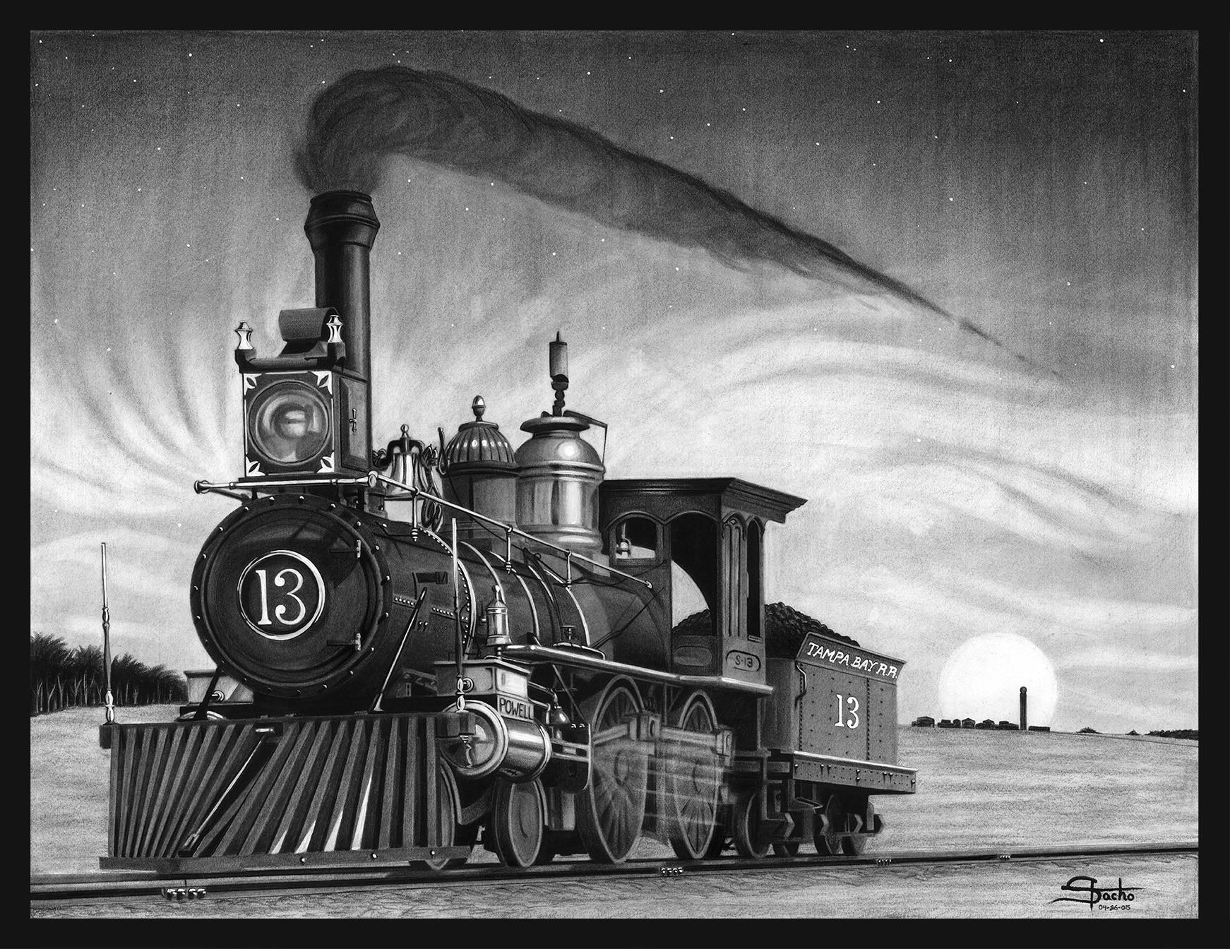 Dwayne stacho the locomotive