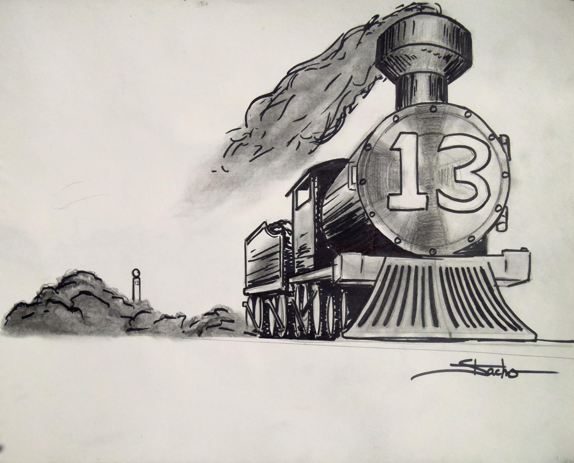 Dwayne stacho train concept