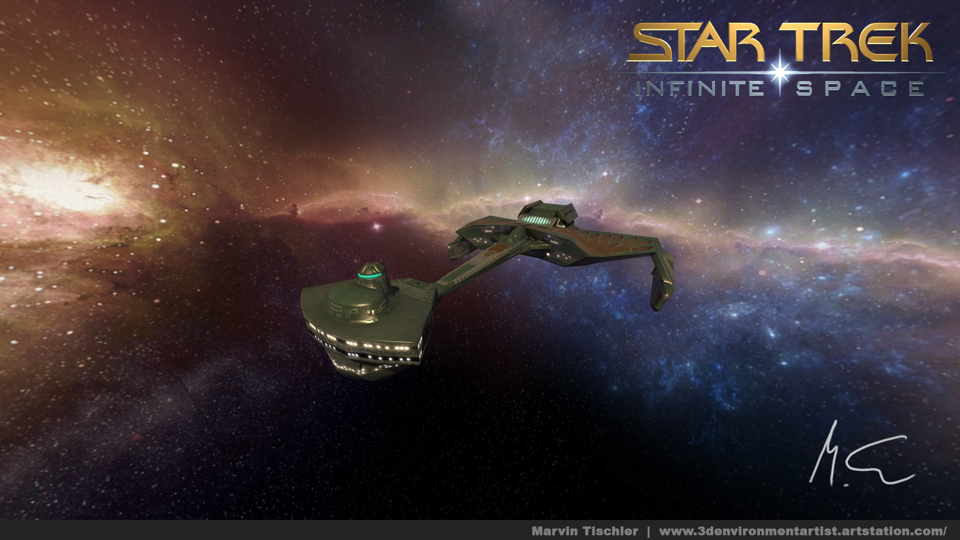 Marvin tischler startrek infinitespace d7