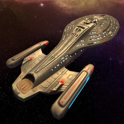 Star Trek - Infinite Space (unreleased) Spaceships (2011)