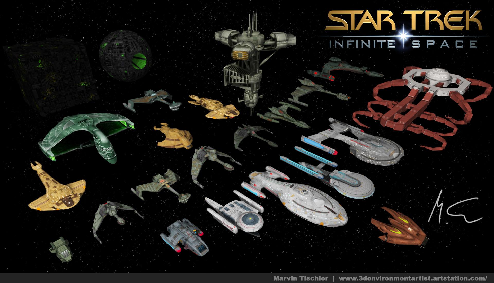 Marvin tischler startrek infinitespace 001 a