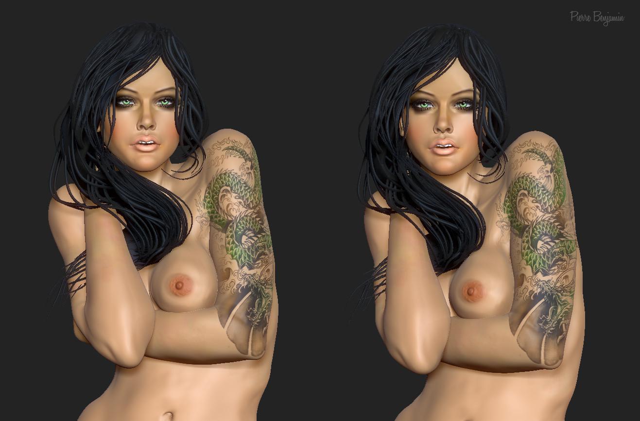 Pierre benjamin beauty woman
