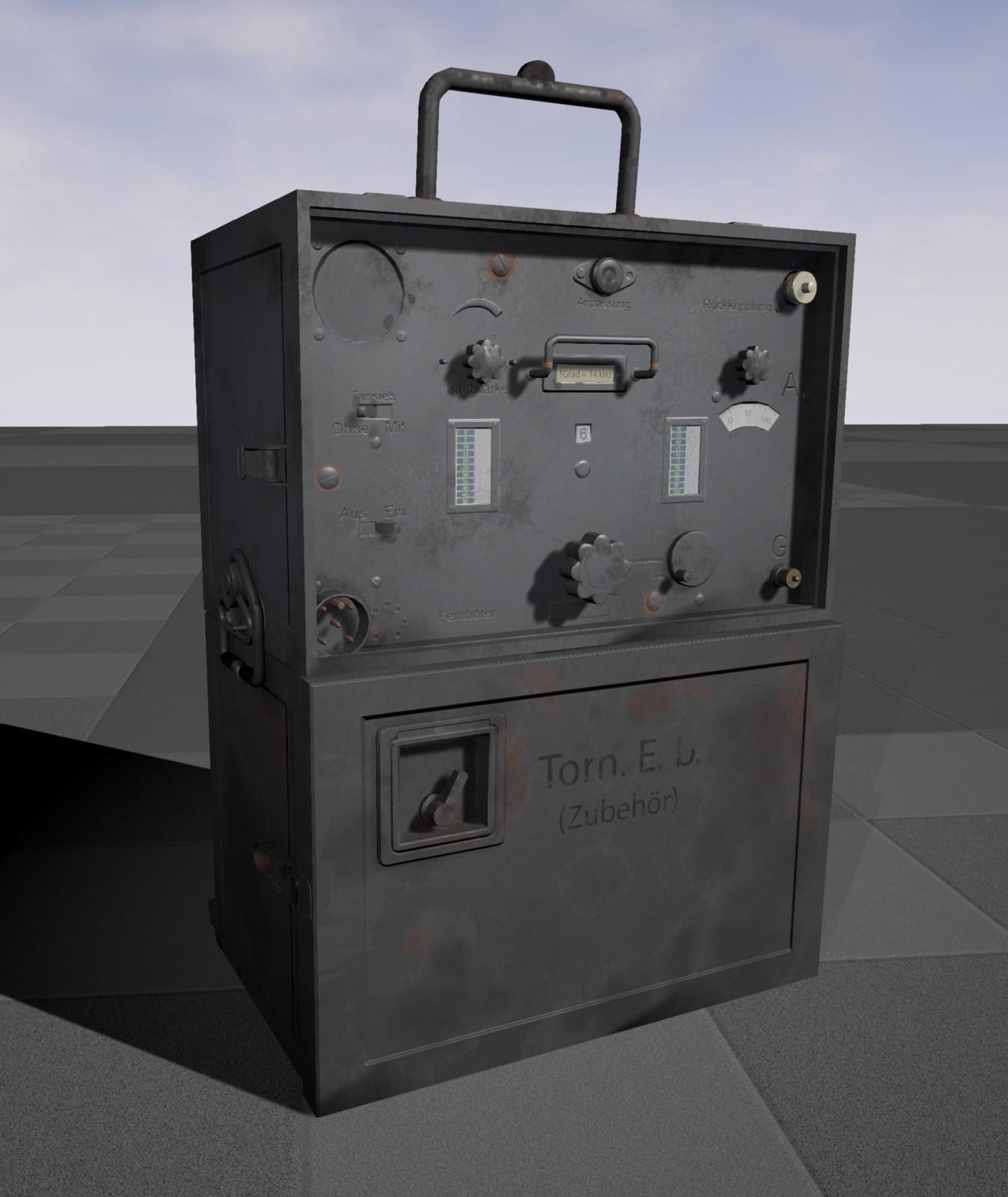 In engine (UE4)