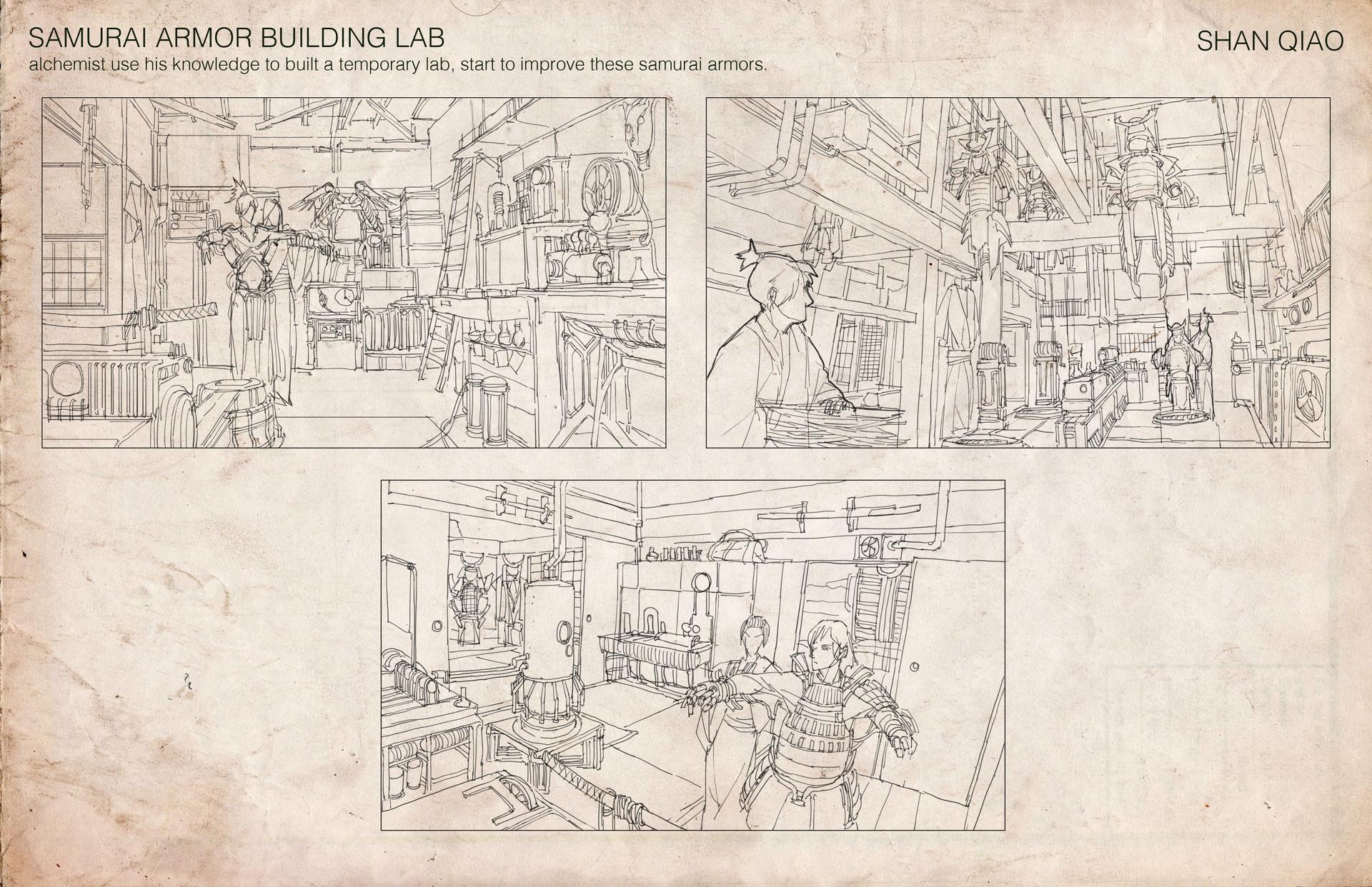 Shan qiao samurai building lab