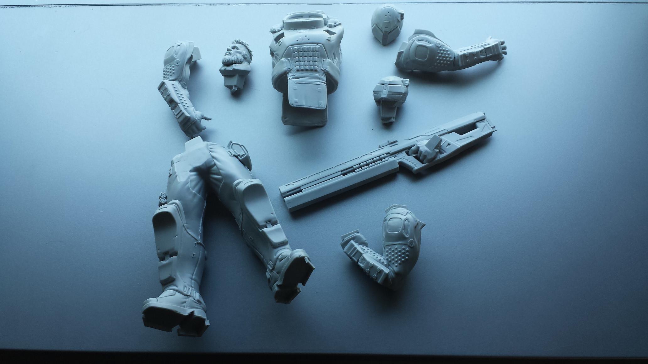Kit pieces