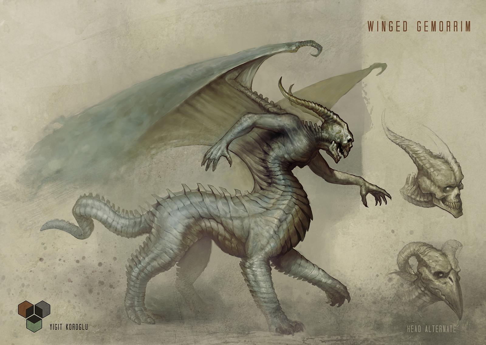 winged gemorrim