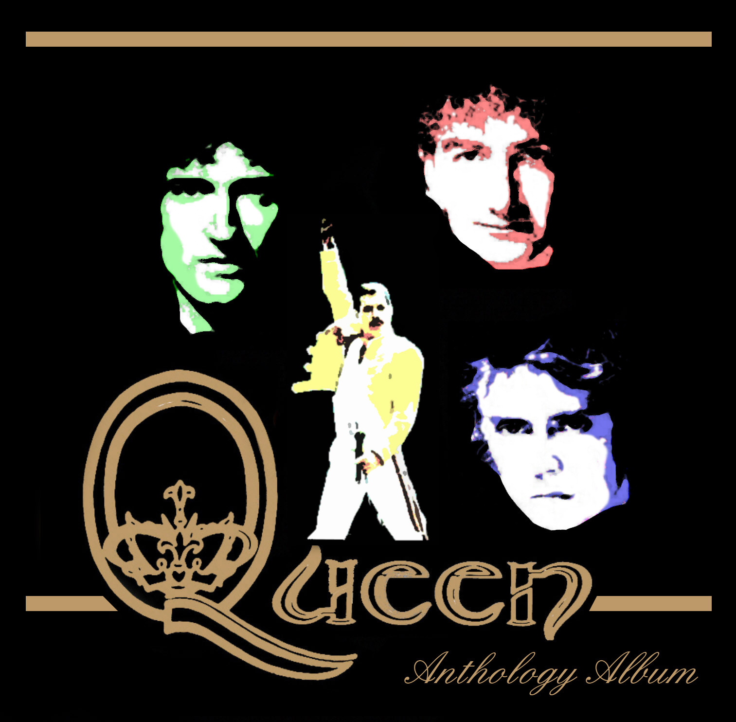 ArtStation - Queen Anthology Album - Cover, AnnA B