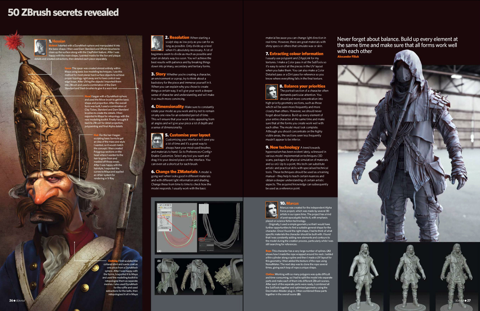 3D Artist Magazine Article