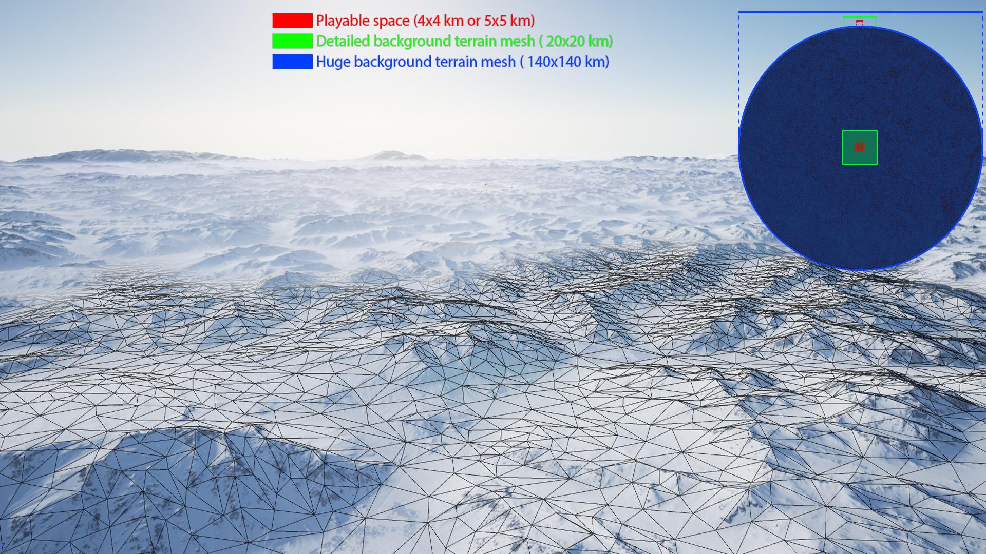 ArtStation Realistic Landscape Pack 4 Antarctica UE4