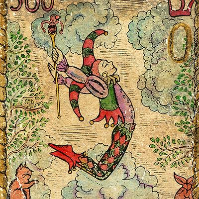 Vera petruk samiramay 0 the old tarot card the fool