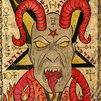 Vera petruk samiramay 15 the old tarot card the devil