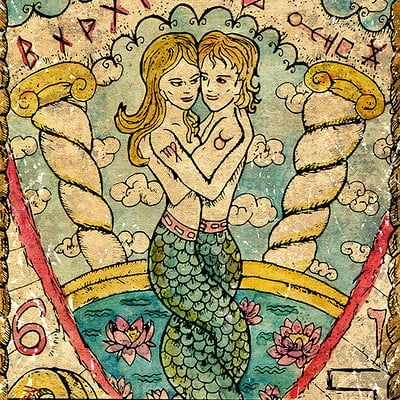 Vera petruk samiramay 6 the old tarot card the lovers
