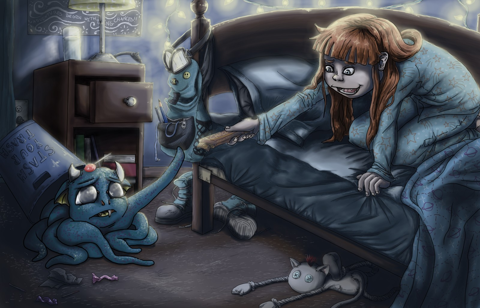 Monster Under the Bed Challenge