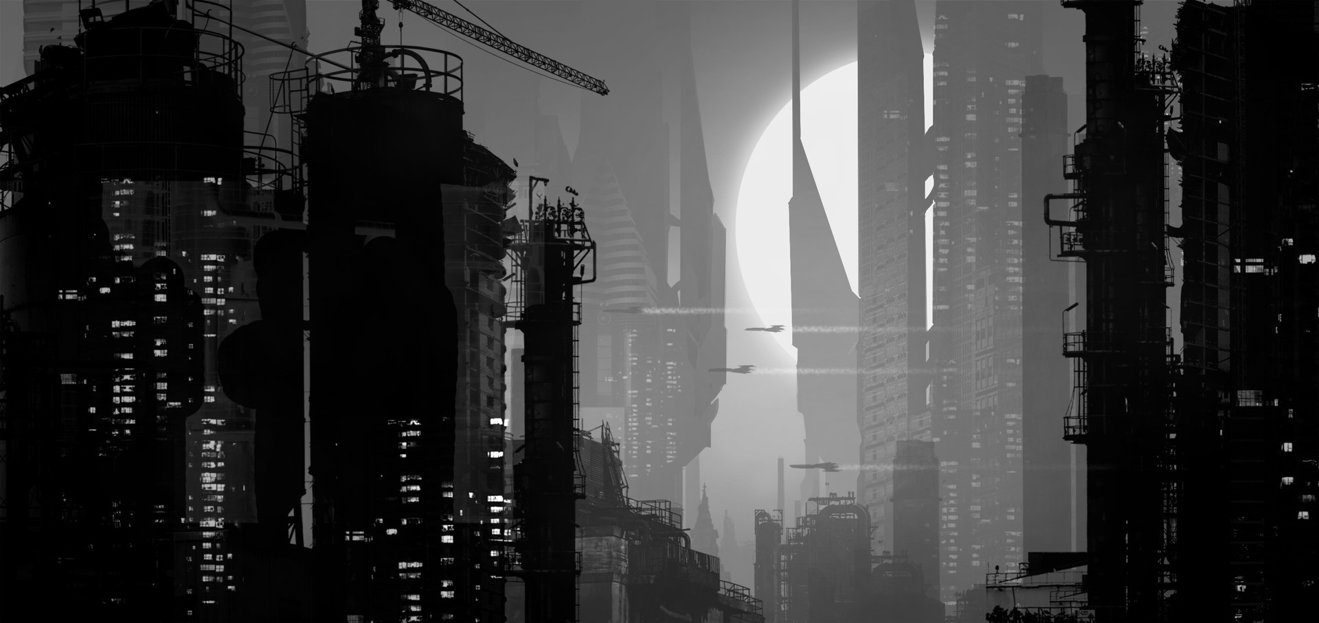 Raphael lacoste buildings shapes
